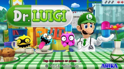 Dr. Luigi revealed for Wii U release on December 31