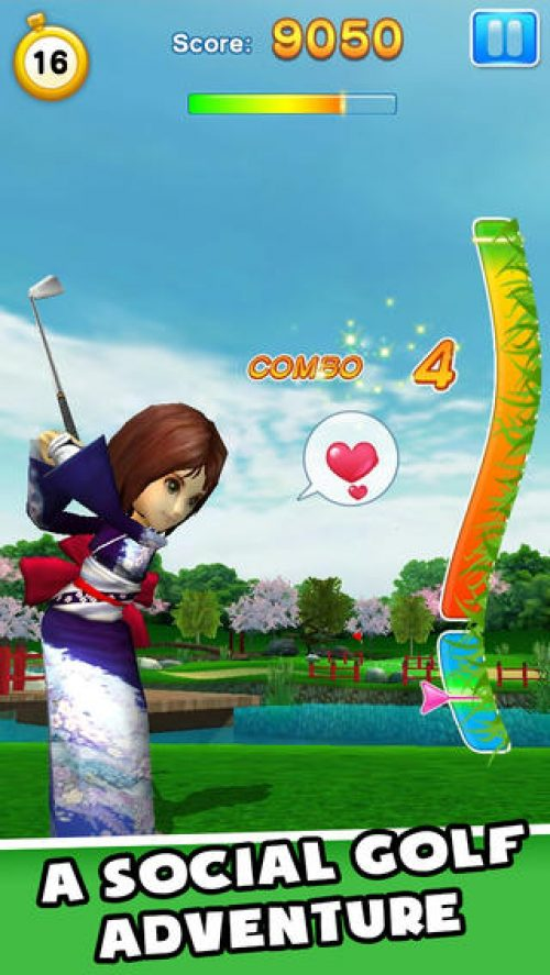 Gameloft and LINE team up for LINE Let's Golf