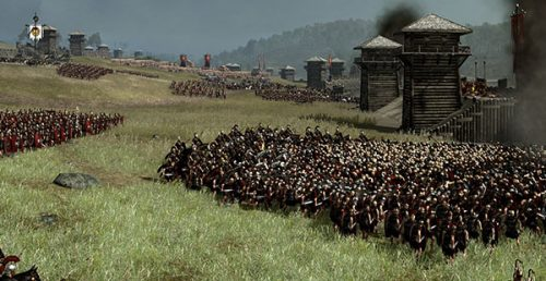 New Rome II Panorama Snapshots the Battle of Alesia