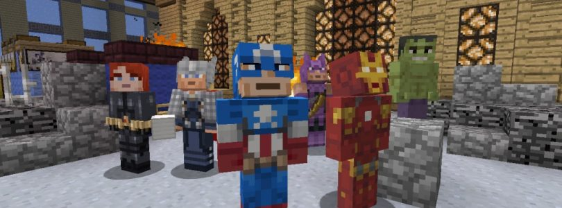 Minecraft Showcases Marvel Skin Pack in New Trailer