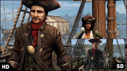Assassin's Creed: Liberation HD comparison screenshots show improvement
