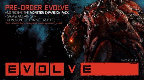 Pre-order bonus announced for Evolve
