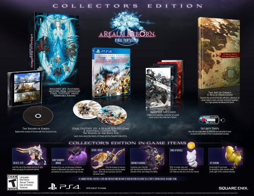 Final Fantasy XIV Collector's Edition and release date announced for PS4