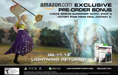 Pre-Order Lightning Returns from Amazon for Yuna's Spira Summoner Costume
