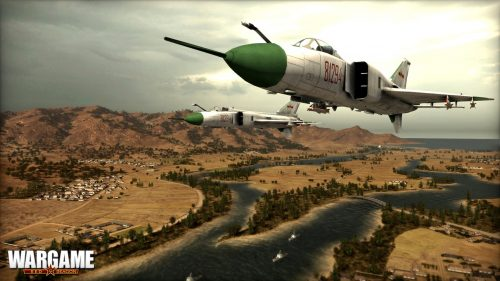Wargame: Red Dragon Teaser Unleashes Huge Aerial Assault