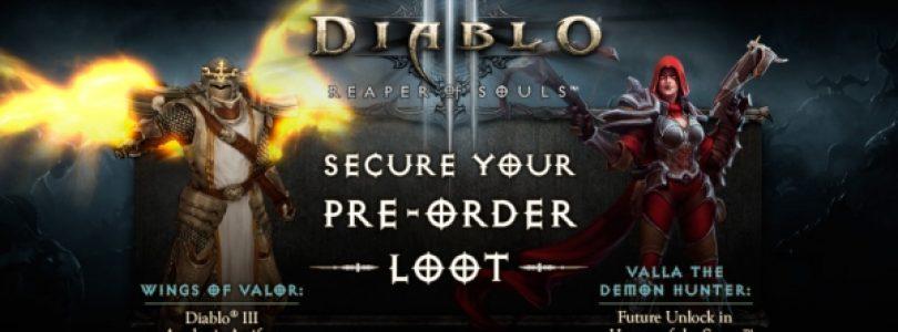 Diablo 3 Expansion's Pre-Order Items Announced