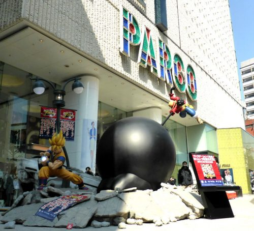 """""""J-Stars Victory Vs."""" Game Promotion Takes To The Streets Of Shibuya"""
