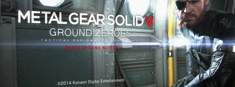 Metal Gear Solid V: Ground Zeroes launch trailer released
