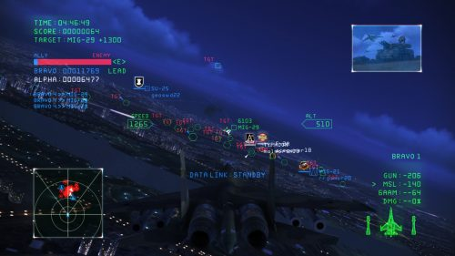 Ace Combat Infinity release date announced