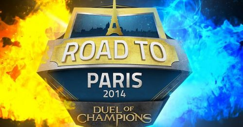 "Might and Magic Duel of Champions Cast ""Road to Paris"" 2014"