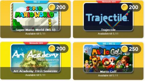 Club Nintendo Updates With Super Mario World, Mario Golf, and More!