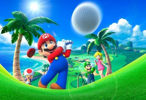 Nintendo Announces DLC for Mario Golf: World Tour
