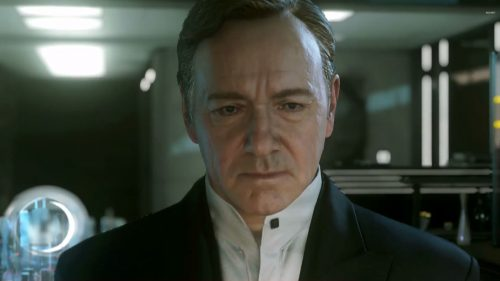 Kevin Spacey in Call of Duty: Advanced Warfare, Releasing November 4