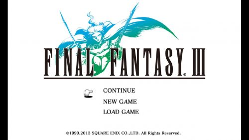 Final Fantasy III is Coming to Steam