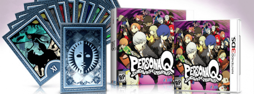 Persona Q: Shadow Of The Labyrinth – Premium Edition Announced For North America