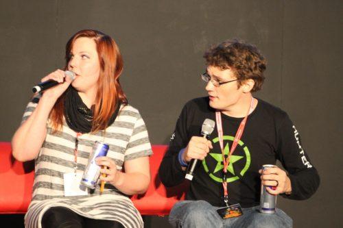 Michael and Lindsay Jones Panel at Supanova 2014