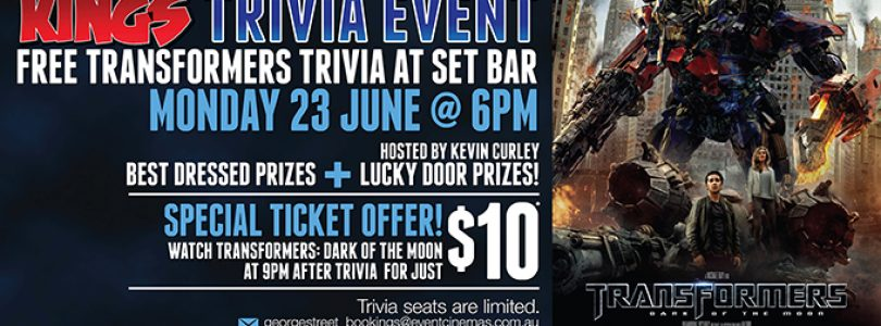 Test Your Transformers Knowledge at a New Kings Trivia Event