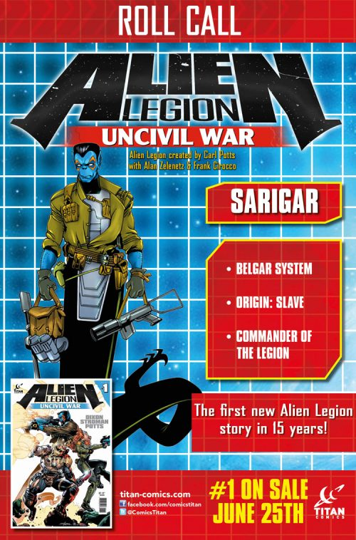 Alien Legion: Uncivil War #1 Out This Week