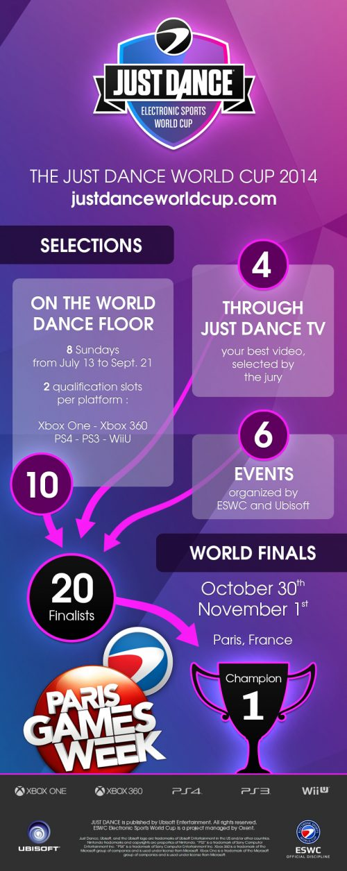 Just Dance 2014 Official Electronic Sports World Cup Announced