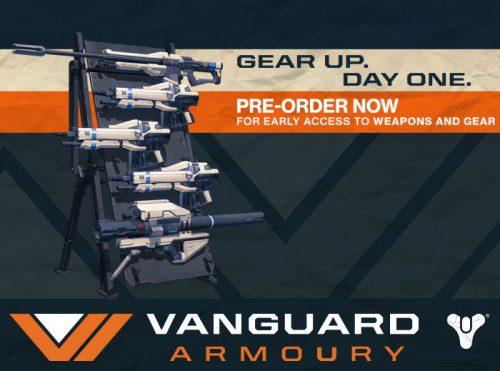 Destiny Pre-order Bonus Vanguard Armoury Trailer Released