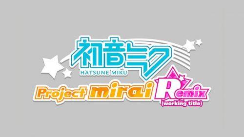 Hatsune Miku: Project Mirai Remix announced for Western release