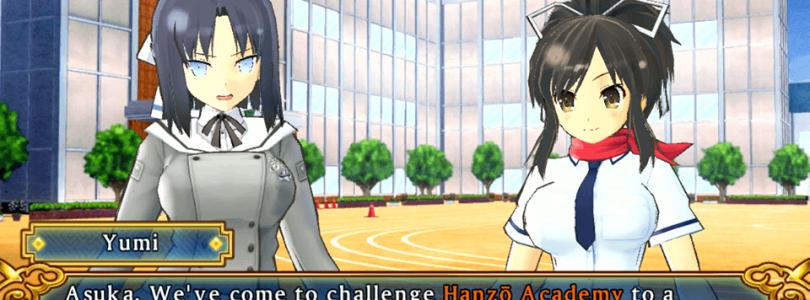 First English screenshots released for Senran Kagura: Shinovi Versus