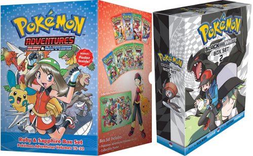 Upcoming Pokémon manga box sets detailed by Viz Media
