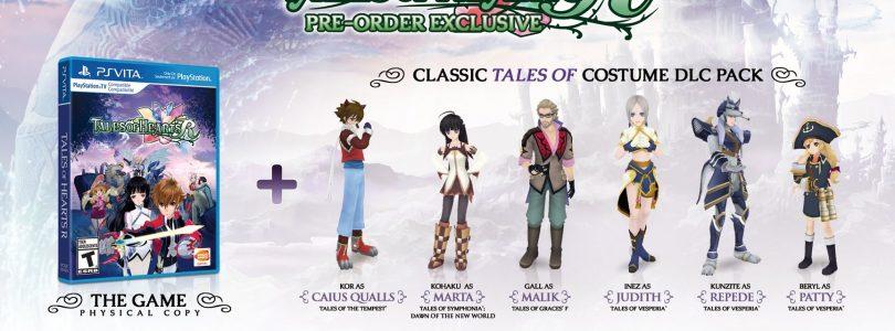 Tales of Hearts R North American pre-order bonuses announced