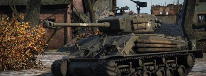 World of Tanks and Sony Pictures Teaming up for FURY Content