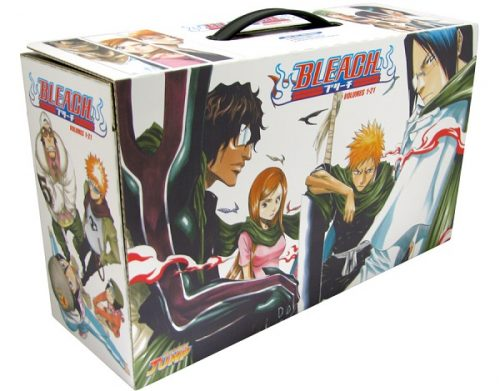 Naruto Box Set 2 and Bleach Box Set 2 revealed by Viz