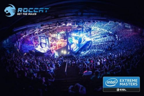 Roccat Sponsoring Intel Extreme Masters Season 9 Tournament Series