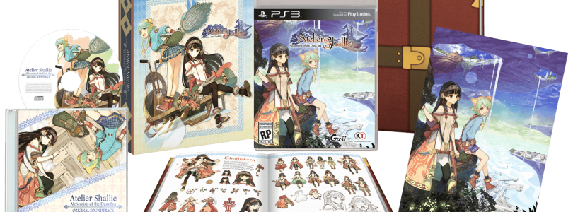Atelier Shallie Limited Edition revealed for North America and Europe
