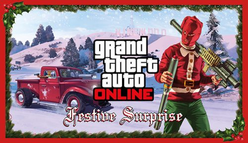 Grand Theft Auto V Brings the Festive Spirit