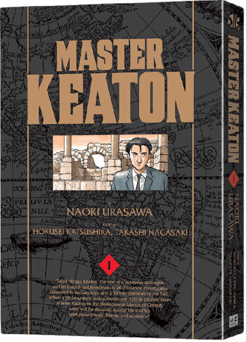 Master Keaton Volume 1 to be released on December 16th