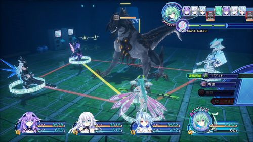 Hyperdimension Neptunia Victory II 'Formation Skill' system revealed