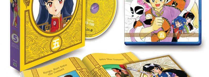 Viz Media Previews 'Ranma 1/2' Limited Edition Blu-ray Box Set 5
