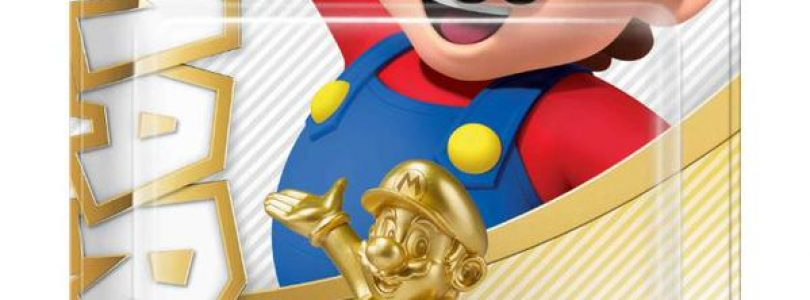 Gold Mario Amiibo Releasing Exclusively at Walmart