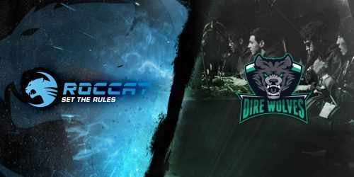 Dire Wolves Announces Roccat as new Main Sponsor
