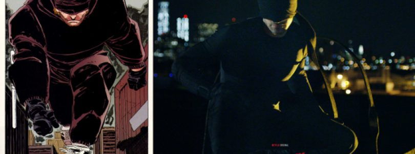 First Look at Daredevil's Red Suit in New Netflix Series