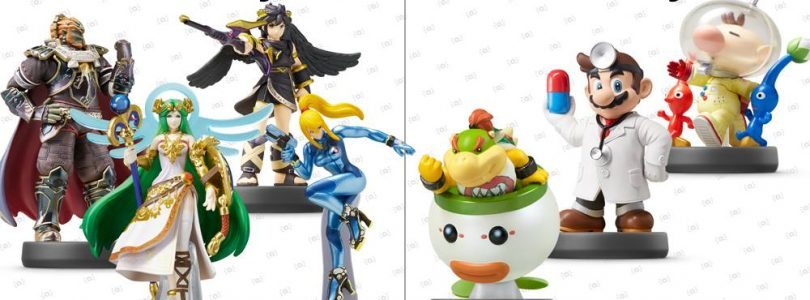 Gold & Silver Mario Amiibo and Wave 5 Release Dates