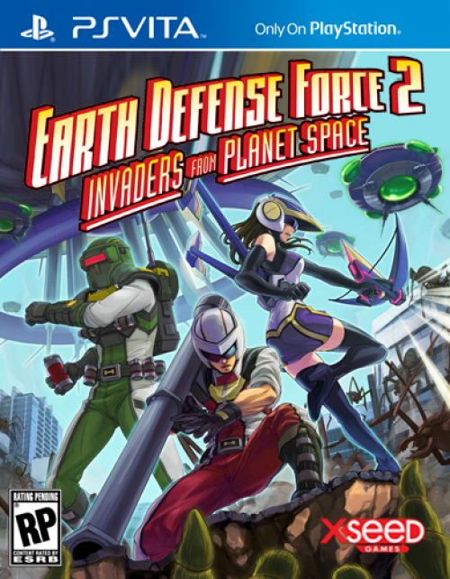Earth Defense Force 2: Invaders From Planet Space North American Release Announced