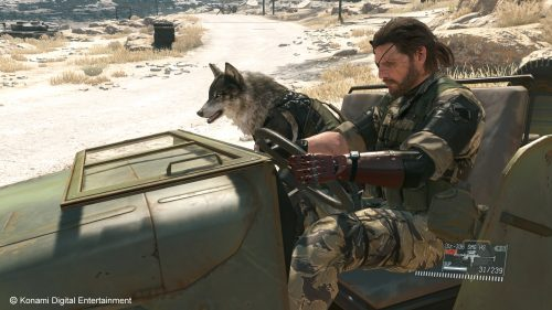 Forty Minutes of Metal Gear Solid V: The Phantom Pain Footage Released