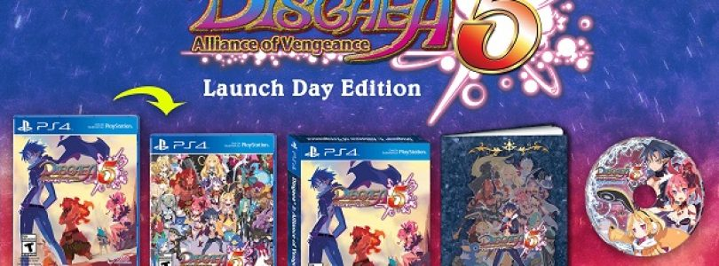 Disgaea 5: Alliance of Vengeance Release Date Set and Launch Bonuses Announced