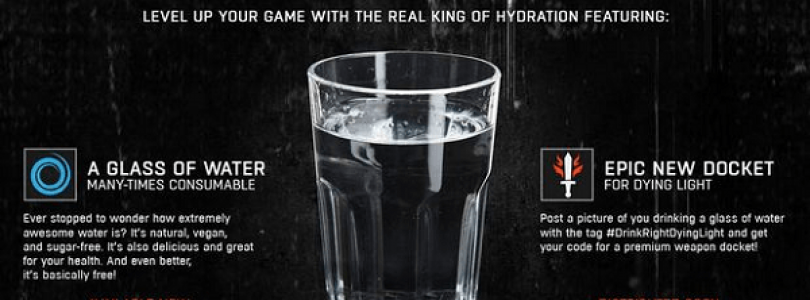 Techland Mocks Destiny Red Bull Quest with Water Promotion