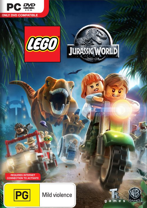 LEGO: Jurassic World – The Park… Is Open