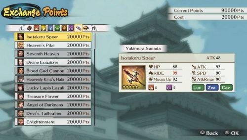 Samurai Warriors Chronicles 3's Edit Mode Detailed