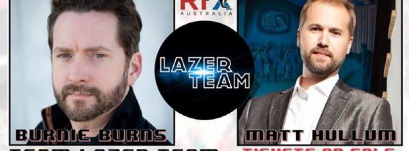 Burnie Burns and Matt Hullum Are Coming to RTX Australia