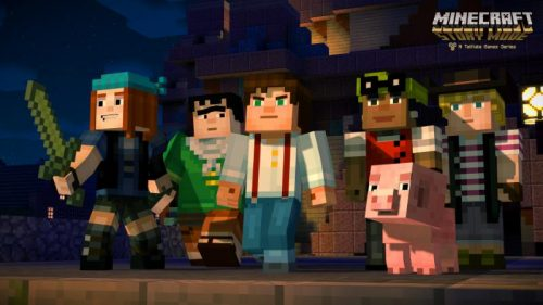 Minecraft: Story Mode Debut Trailer Released