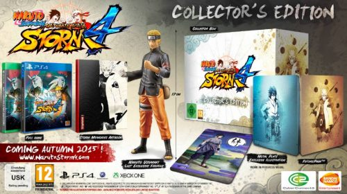 Naruto Storm 4 Gets Anime Expo Trailer & Collector's Edition