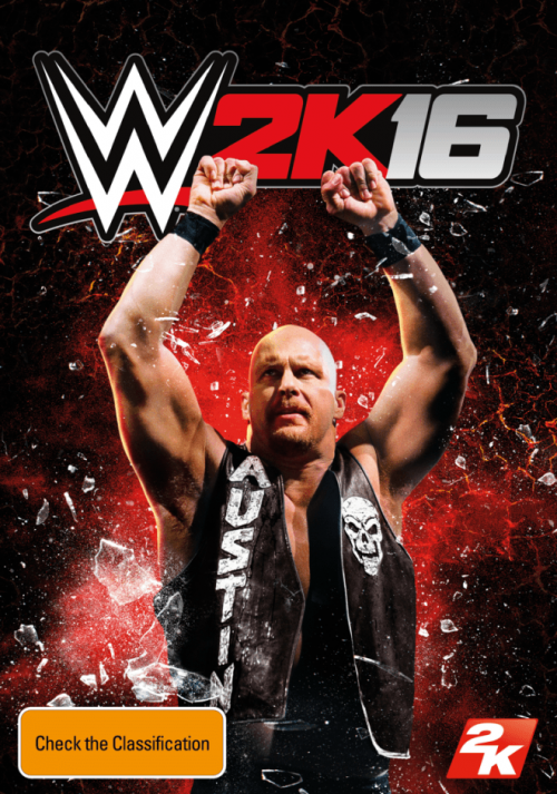 Stone Cold Revealed as Cover Superstar for WWE 2K16
